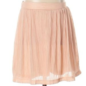 Urban Outfitters | pink micro-pleated skirt